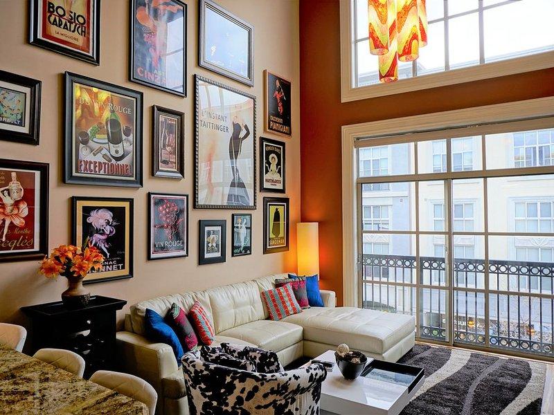 Santana Row Executive Luxury Condo - Silicon Valley - Levi's Stadium, location de vacances à Campbell