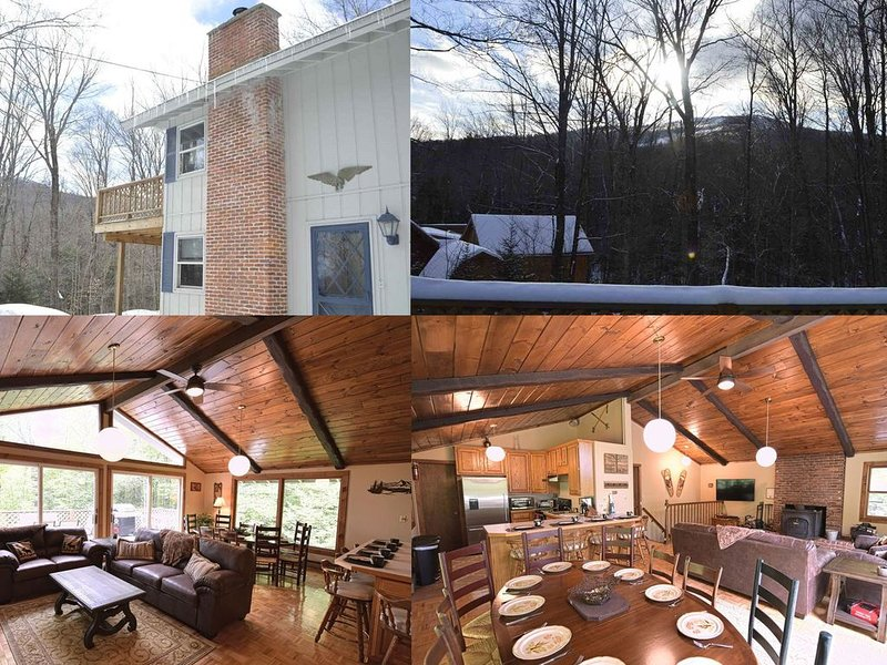 Walk To Mt. Snow - Newly Updated - Open Concept - Mountain Views, alquiler de vacaciones en Dover