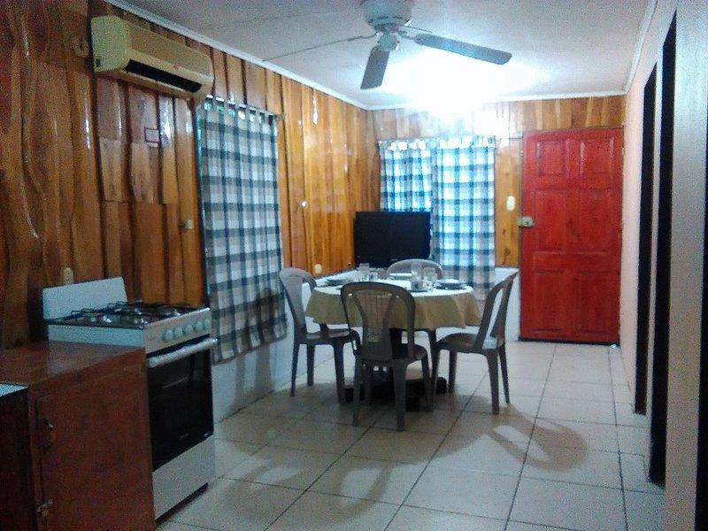 Kitchen, Dining, Front Door