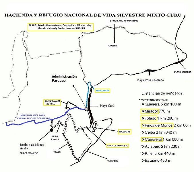 CURU TRAIL MAP