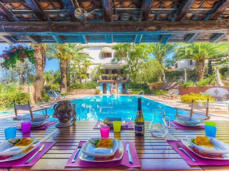 Infinity pool, Taormina, vacation rental in Trappitello