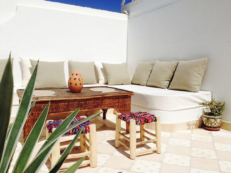VILLAZILA maison sur l'océan, alquiler de vacaciones en Región de Tánger-Tetuán