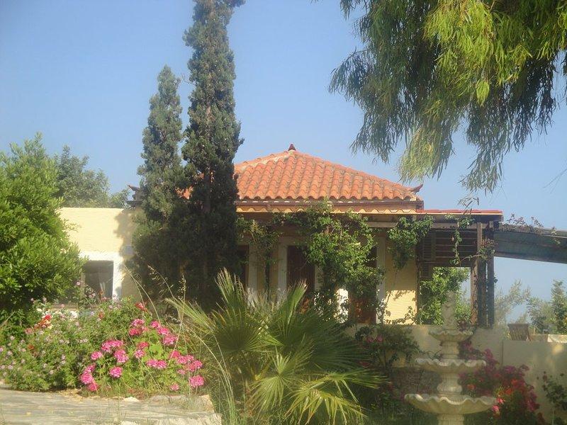 Greek Blue Sea Villas, location de vacances à Velanidia