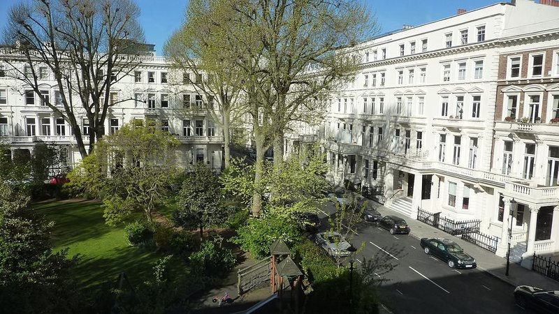 View over Earls Court Square