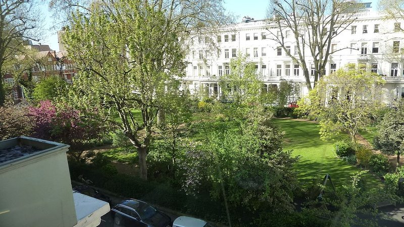 Earl's Court Square from the balcony
