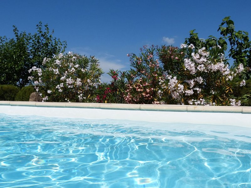 SUD ARDECHE maison GRAND CONFORT PISCINE dans NATURE CARREFOUR TOURISTIQUE, vacation rental in Ardeche