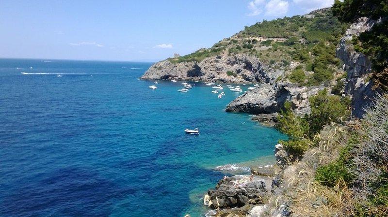 Porto Santo Stefano: Appartamento con accesso privato al mare su scogliera, casa vacanza a Isola di Giannutri