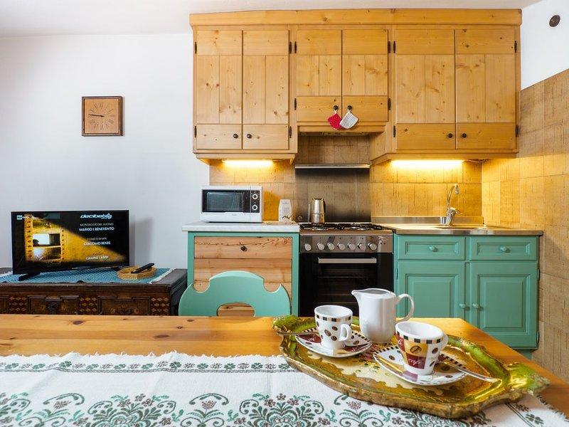 Bilocale per Famiglie in pieno centro a Cortina, vacation rental in Province of Belluno