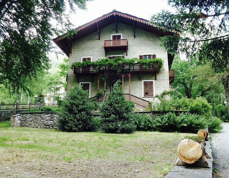 L'antica casa dei faggi, location de vacances à Ala di Stura