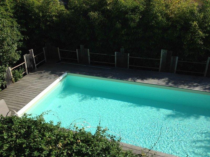 Magnifique Villa avec piscine chauffée à Bayonne centre ville., vacation rental in Bayonne