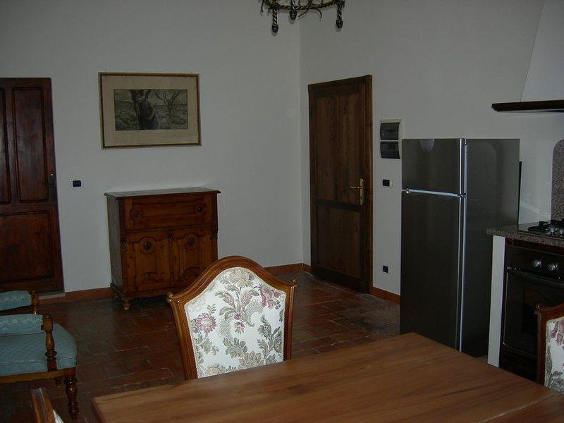 Villa nella Maremma Toscana, Podere Stramazzi, app I piano Hortensiae, location de vacances à Vetulonia