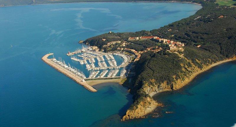 Delizioso villino in affitto a Punta ala - Castiglione Della Pescaia-, location de vacances à Punta Ala