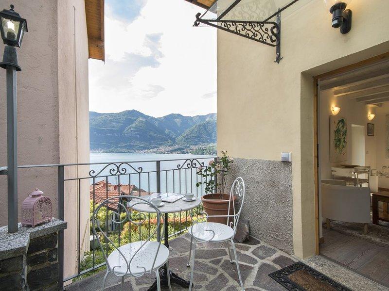 Rustico Vista Lago, vacation rental in Lezzeno