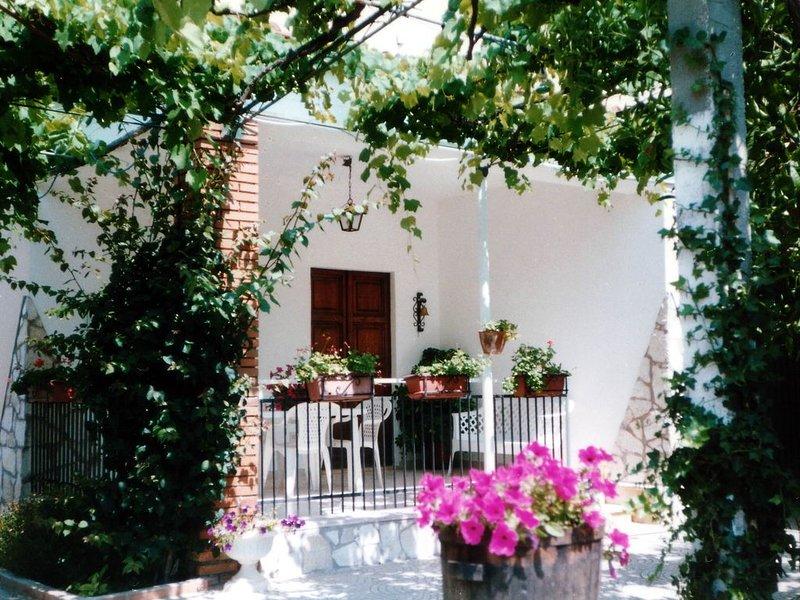 Casa con giardino 'house with garden', vacation rental in Frasso
