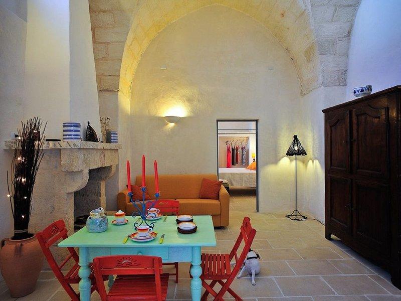 Palazzo Belvedere - Appartamento Fico D'India, vacation rental in Nociglia