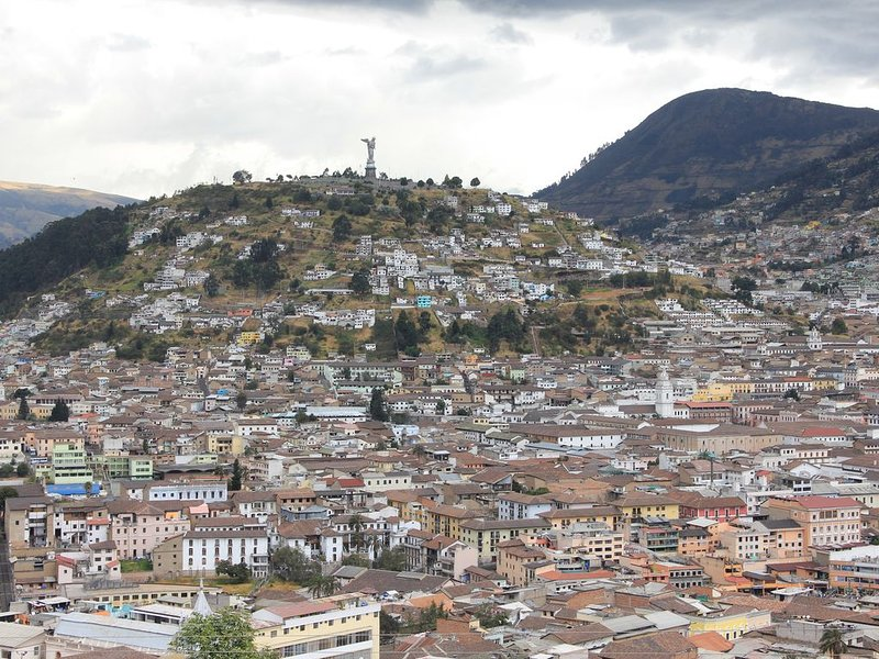 Apartamento en Quito con las mejores vistas del Centro Colonial, alquiler de vacaciones en Quito