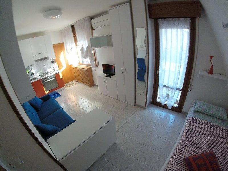 La casa di Pamy monolocale con mega terrazzo a 50 passi dal mare, vacation rental in San Mauro a Mare