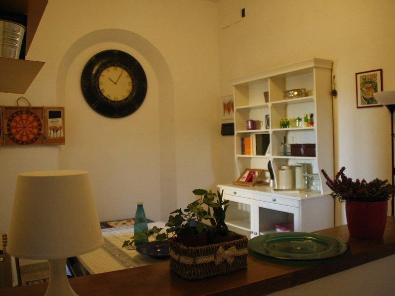 Confortevole appartamento di 90 mq nel centro di Colle Val D'Elsa, Ferienwohnung in Colle di Val d'Elsa