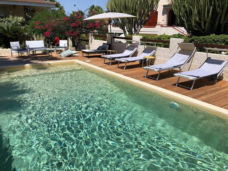 MAOD dimora di Sicilia con piscina a San Lorenzo Noto Marzamemi Agua beach, alquiler vacacional en Lido di Noto