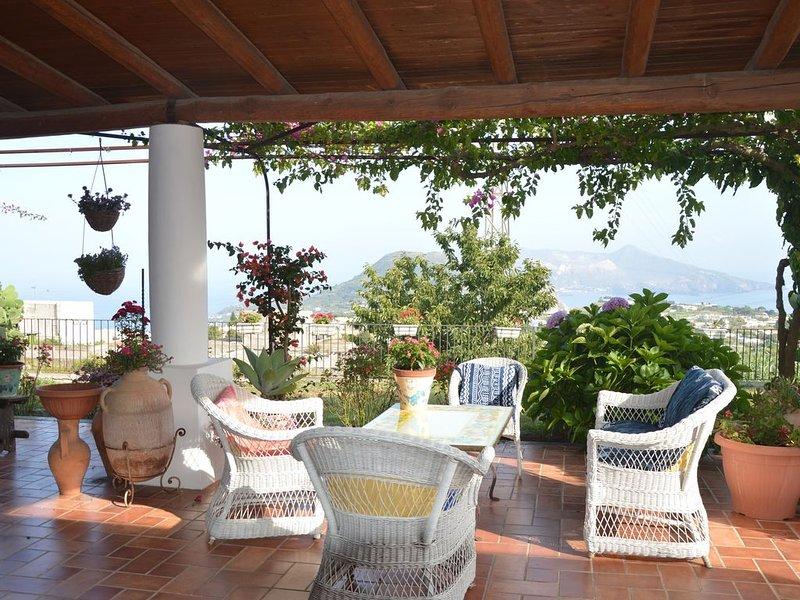 Villa Rosa dei Venti 1, holiday rental in Aeolian Islands