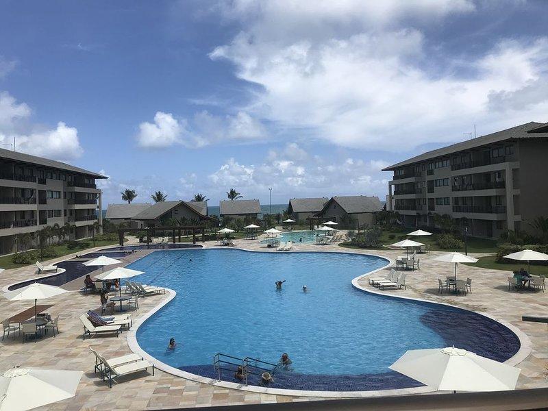 Resort apartment by the beach, alquiler vacacional en Maracaipe