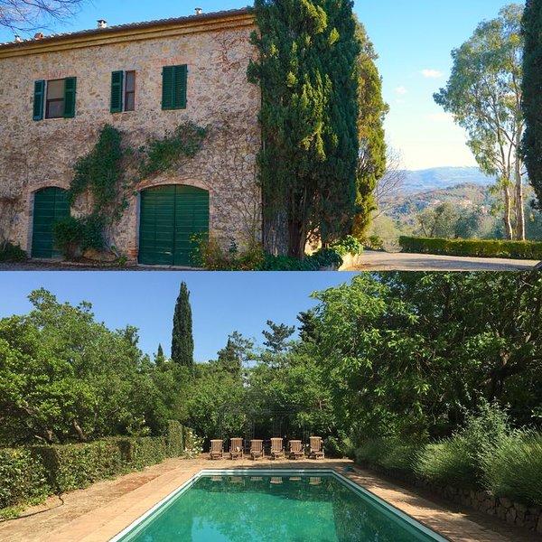 Casa Chiesa: Charming Cottage on beautiful estate in Tuscany, aluguéis de temporada em Poggi del Sasso