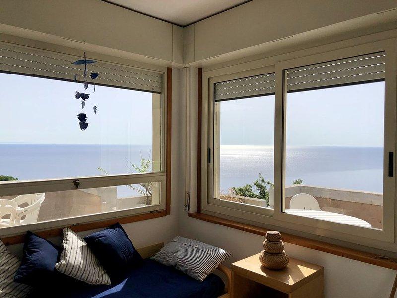 Appartamento con super vista mare, vacation rental in Catanzaro Lido