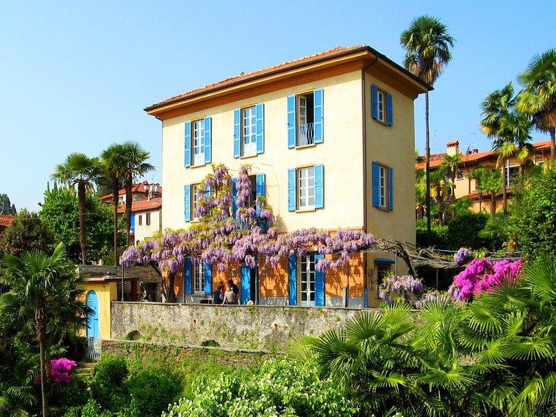 Haus mit Ambiente am Lago Maggiore für Großfamilien, Freundesgruppen, Seminare, vacation rental in Bee