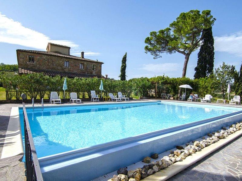 Ferienwohnung mit Terrasse und bezauberndem Blick, holiday rental in Abbadia di Montepulciano