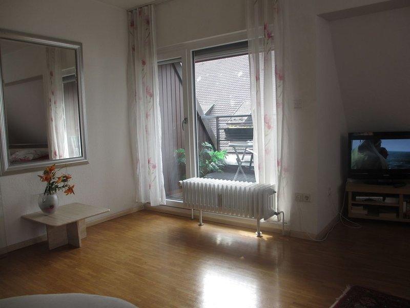 2 Zi. Wohnung in direkter Altstadtlage Am Rathausplatz mit Südwest Balkon, holiday rental in Umkirch