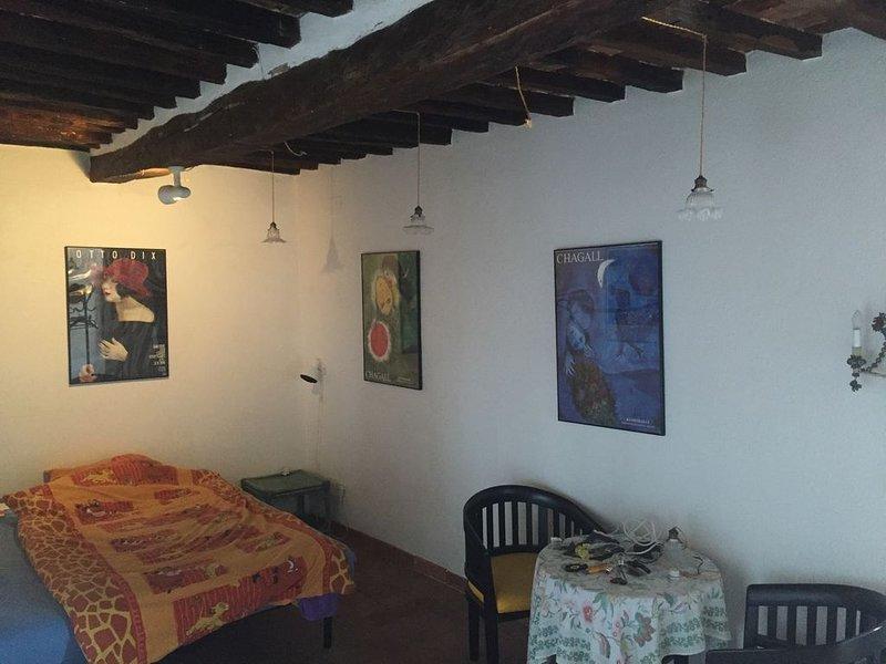 Dachterrassen Rustico mit Meerblick, holiday rental in Bagno di Gavorrano