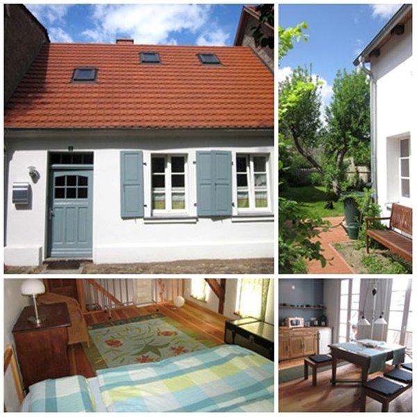 Restauriertes Ackerbürgerhaus in der histor. Altstadt bis 4 Personen, casa vacanza a Alt-Ruppin