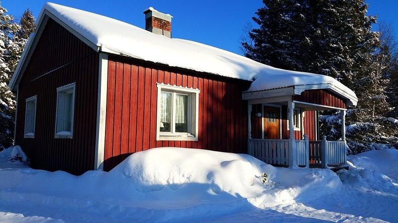 Ferienhaus im Elchgebiet mit See, alquiler vacacional en Arvidsjaur