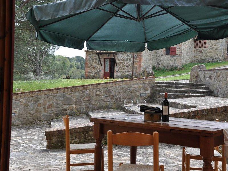 Ferienwohnung in einer idyllischen Ferienanlage inmittens der Weinguten- B3, location de vacances à Vagliagli
