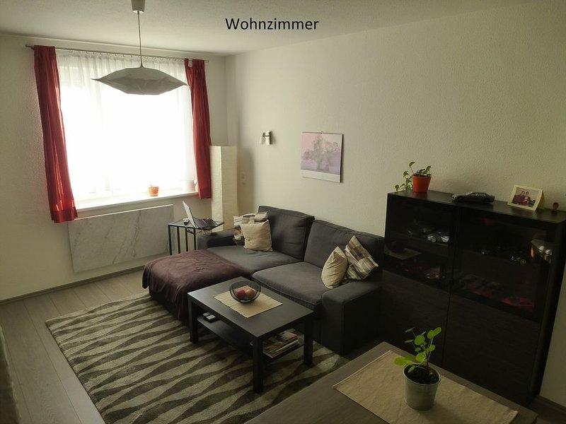 Das Café im Geburtshaus von Schriftstellerin, Eugenie Marlitt., holiday rental in Grossliebringen