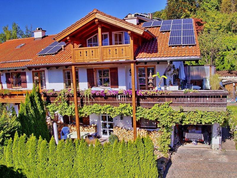 Sonnig, familienfreundlich, beste Lage f.Wanderer Skifahrer,Haustiere willkommen, vakantiewoning in Hallein