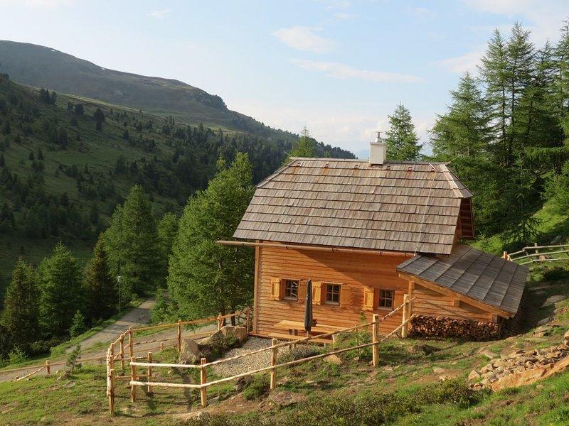 Romantisches Almchalet mit Zirbenholzpanoramasauna im Biosphärenpark Lungau, holiday rental in Ramingstein