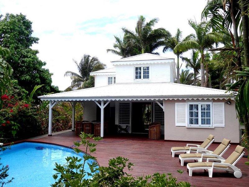 Villas Aquarelles 4*, Villa Picasso, villas pour 10 pers, location de vacances à Sainte Rose