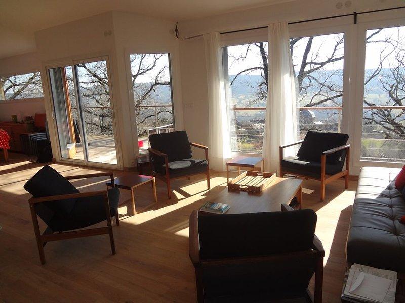 Jolie Villa familiale, vacation rental in Nauviale