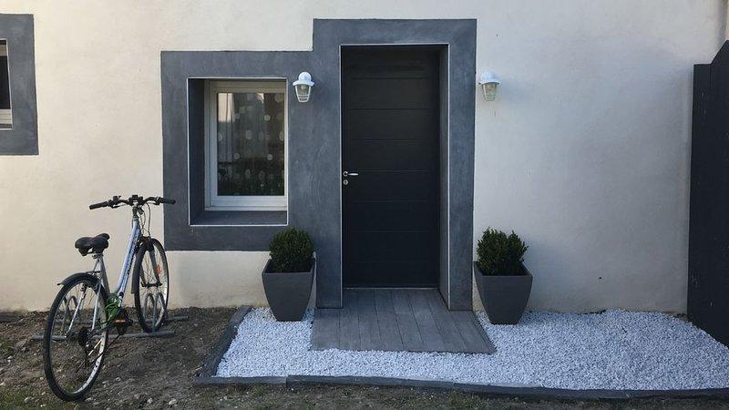 Petite maison traditionnelle classée 3* à 3 km des plages, location de vacances à Arvert