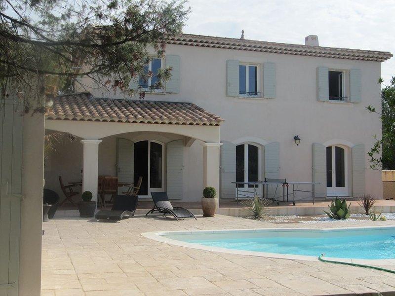 Magnifique Villa (Bastide) proche de la mer et du Pic Saint Loup, casa vacanza a Restinclieres