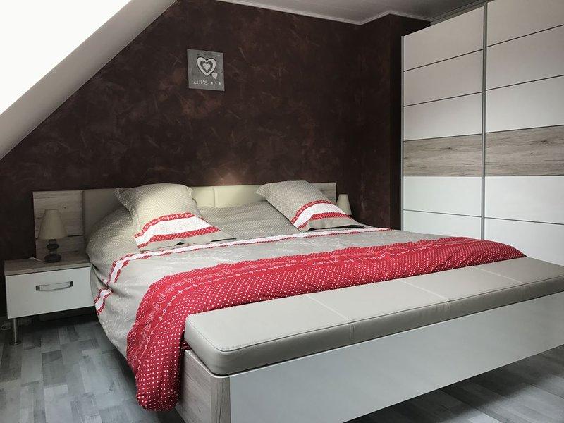 gite maison de standing 80 m² avec spa  , 4 personnes, route des vins en alsace, vacation rental in Ebersmunster