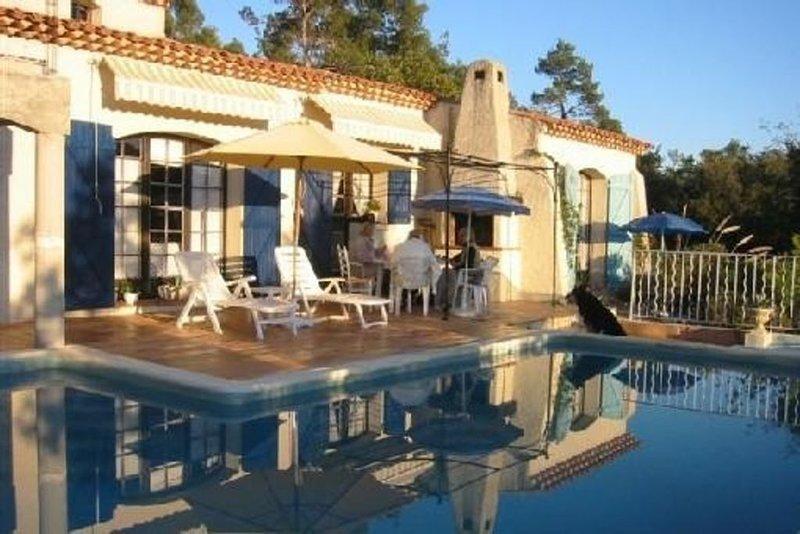 Villa provençale centre var, vacation rental in Forcalqueiret