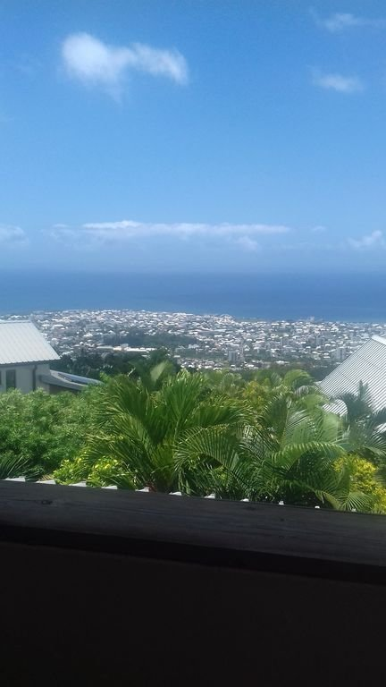 Magnificent views of the city and the sea from the terrace of the apartment