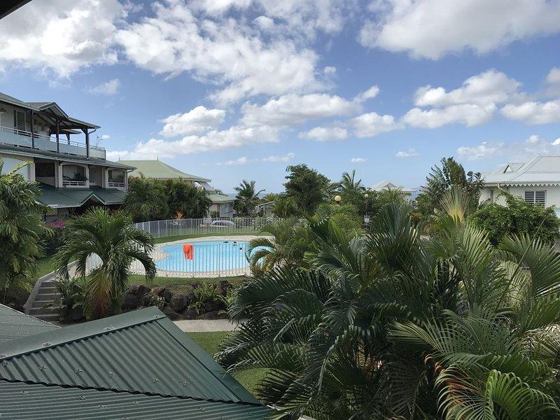 Appartement standing 3 pièces avec piscine aux Trois Ilets, vacances de rêve, location de vacances à Trois-Ilets