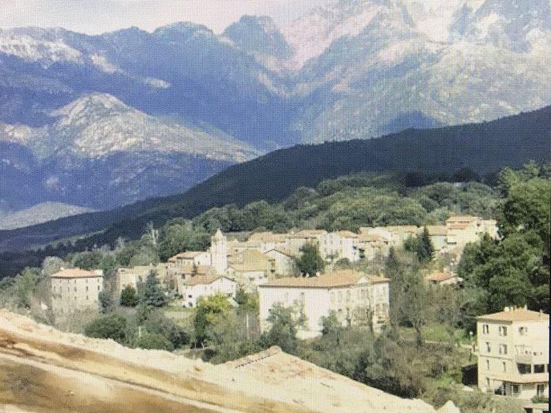 Maison de village Corse du Sud à 20 minutes d'Ajaccio, holiday rental in Cuttoli-Corticchiato