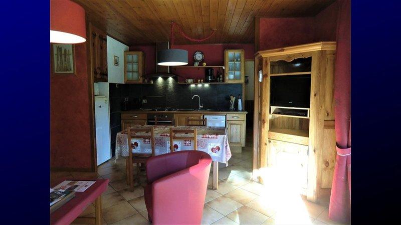 SERRE CHEVALIER 1400 - APPART*** 4/5 pers. avec jardin,, holiday rental in La Salle les Alpes