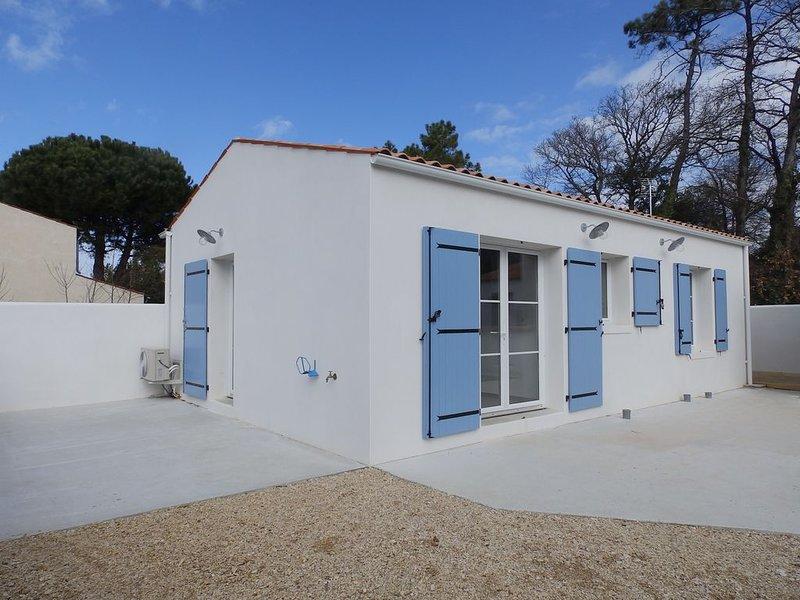 A 100 m de la plage, maison neuve, au calme et pistes cyclables à proximité, vakantiewoning in Saint-Georges d'Oléron