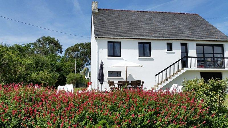 Belle Maison Sarzeau 200m PLAGE, VUE MER, Landrezac COTE OCEAN 8 Pers, casa vacanza a Sarzeau