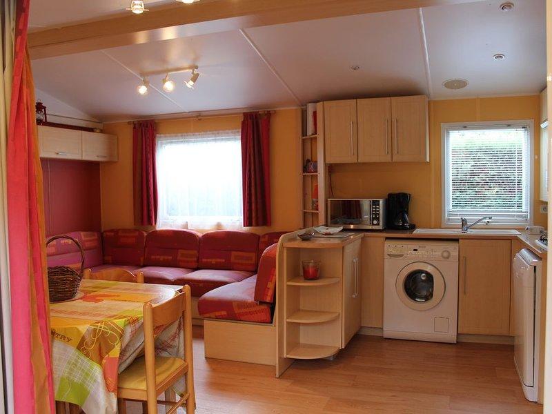 MOBIL HOME 3CH climatisé tout équipé /PROMO et TARIF  DANS L' ANNONCE/CHARMETTES, casa vacanza a Les Mathes
